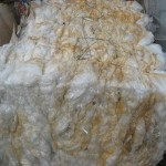 LDPE Mulch Bags and Clear Stretch Film Baled