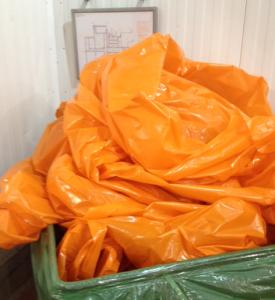 Orange LDPE